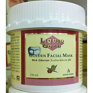 Anna Lotan Liquid gold Golden Facial Mask 250ml