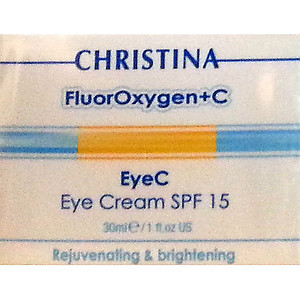 Christina FluorOxygen + C - EyeC Eye Cream SPF15 30ml