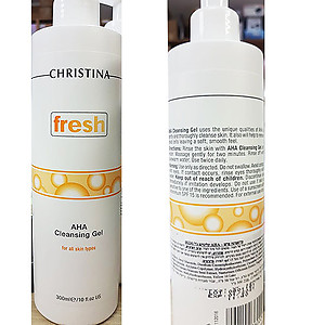 Christina - Fresh AHA cleansing gel 300ml