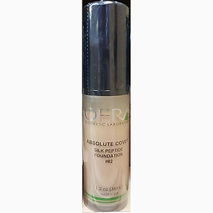 Ofra makeup absolute cover silk peptide foundation no.2 1.2Oz 36ml