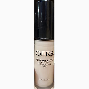 Ofra makeup absolute cover silk peptide foundation no.4 1.2Oz 36ml