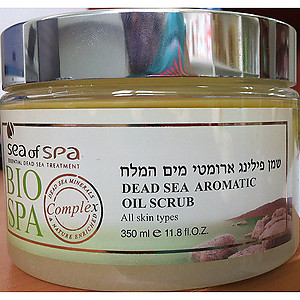 Bio Spa Dead Sea Aromatic Oil Scrub 350ml