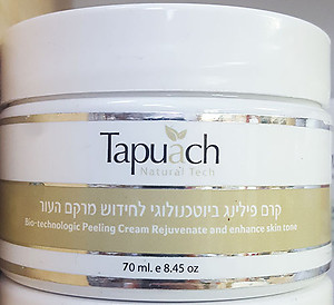 Tapuach Bio Technologic peeling cream rejuvenate and enhance skin tone 70ml