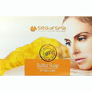 Sea of Spa Dead Sea Sulphur Soap 125g