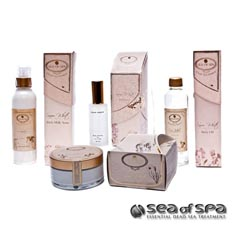 Sea of Spa Snow White PERFECT BODY CARE KIT